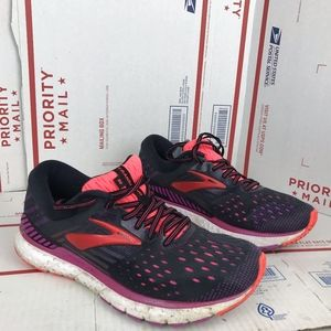 Brooks Womens Transcend 6 Shoes B080 Size 9